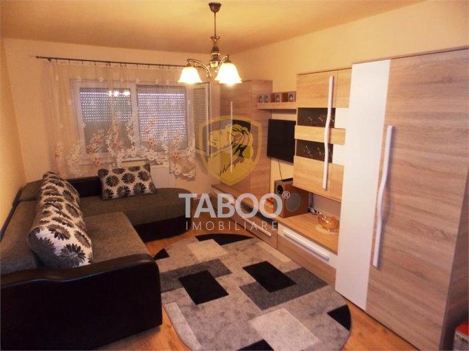 Apartament inchiriere Sibiu 2 camere, suprafata utila 53 mp, 1 grup sanitar. 250 euro. Etajul 4 / 4. Apartament Broscarie Sibiu