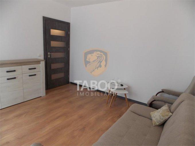 Apartament de inchiriat in Sibiu cu 2 camere, cu 1 grup sanitar, suprafata utila 47 mp. Pret: 300 euro.