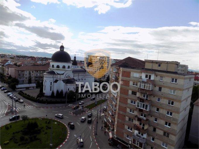 Apartament de vanzare in Sibiu cu 2 camere, cu 1 grup sanitar, suprafata utila 48 mp. Pret: 54.000 euro.