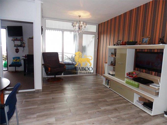 Apartament de inchiriat direct de la agentie imobiliara, in Sibiu, cu 250 euro. 1 grup sanitar, suprafata utila 50 mp.