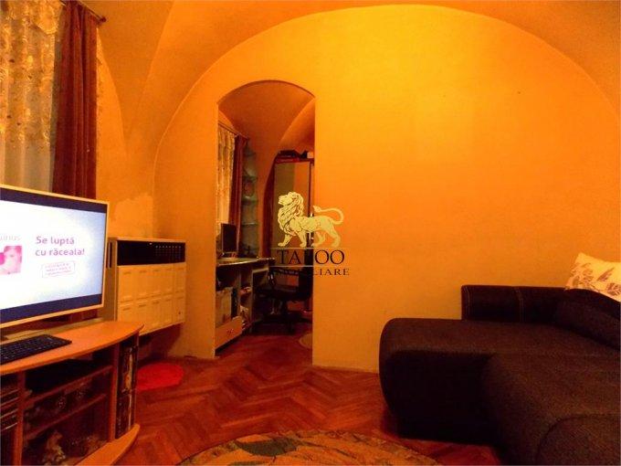 Apartament de vanzare in Sibiu cu 2 camere, cu 1 grup sanitar, suprafata utila 33 mp. Pret: 37.900 euro.