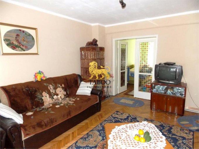 vanzare Apartament Sibiu cu 2 camere, cu 1 grup sanitar, suprafata utila 50 mp. Pret: 45.990 euro.