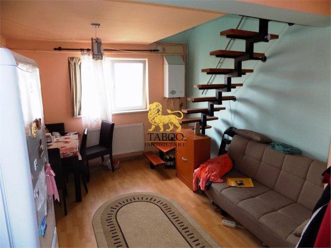 Apartament de vanzare in Sibiu cu 2 camere, cu 1 grup sanitar, suprafata utila 41 mp. Pret: 27.000 euro.