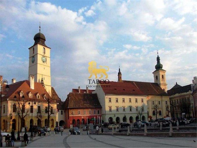 Apartament de vanzare direct de la agentie imobiliara, in Sibiu, cu 55.000 euro. 1 grup sanitar, suprafata utila 70 mp.