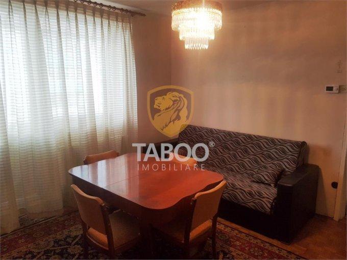 inchiriere Apartament Sibiu cu 2 camere, cu 1 grup sanitar, suprafata utila 45 mp. Pret: 250 euro.