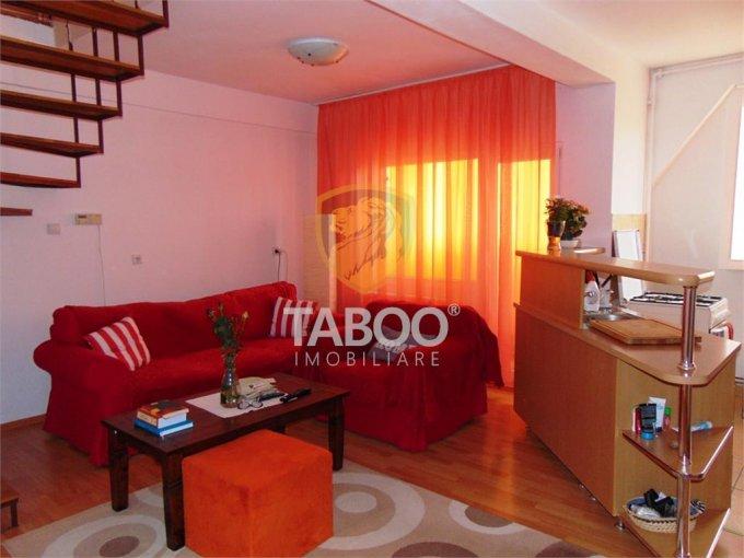 Apartament de vanzare in Sibiu cu 2 camere, cu 1 grup sanitar, suprafata utila 60 mp. Pret: 34.000 euro.