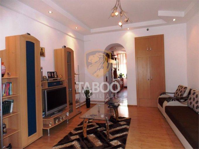 Apartament de vanzare direct de la agentie imobiliara, in Sibiu, cu 83.000 euro. 1 grup sanitar, suprafata utila 67 mp.