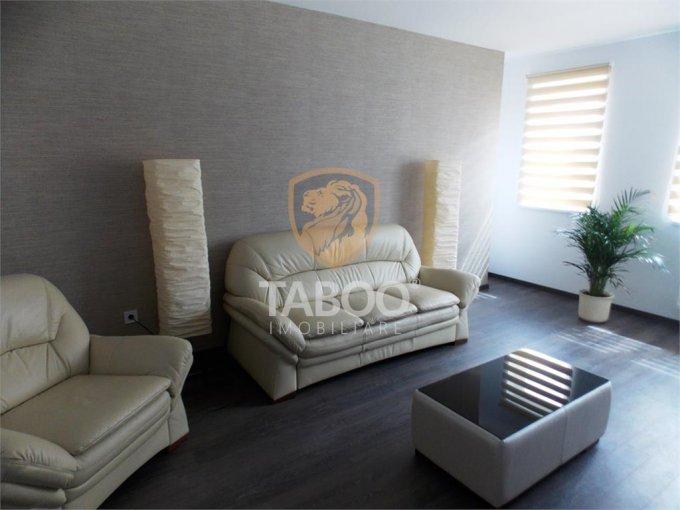 Apartament inchiriere Sibiu 2 camere, suprafata utila 55 mp, 1 grup sanitar. 350 euro. La Parter / 4. Apartament Turnisor Sibiu