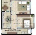 vanzare apartament decomandata, comuna Selimbar, suprafata utila 70 mp