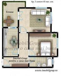 agentie imobiliara vand apartament decomandata, comuna Selimbar