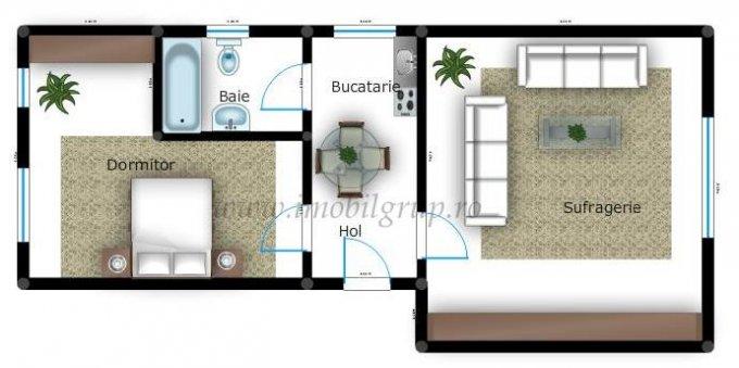 agentie imobiliara vand apartament decomandata, in zona Piata Cluj, orasul Sibiu