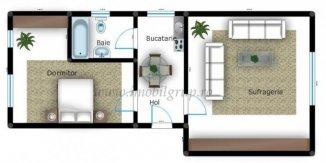 vanzare apartament cu 2 camere, decomandat, in zona Piata Cluj, orasul Sibiu