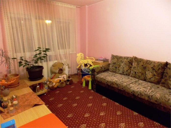 Apartament vanzare Sibiu 3 camere, suprafata utila 55 mp, 1 grup sanitar. 53.000 euro. La Parter / 5. Apartament Sibiu