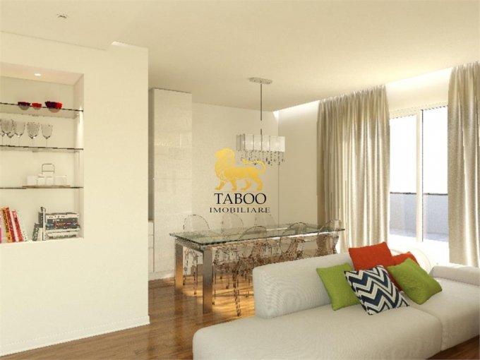 Apartament de vanzare direct de la agentie imobiliara, in Sibiu, in zona Strand, cu 72.000 euro. 2 grupuri sanitare, suprafata utila 76 mp.
