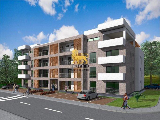 vanzare Apartament Sibiu cu 3 camere, cu 2 grupuri sanitare, suprafata utila 90 mp. Pret: 59.500 euro.