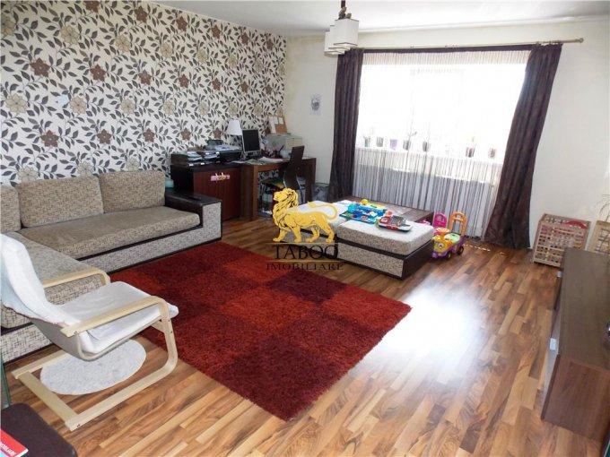 Apartament vanzare Sibiu 3 camere, suprafata utila 89 mp, 2 grupuri sanitare. 65.000 euro. Etajul 2 / 3. Apartament Selimbar Sibiu