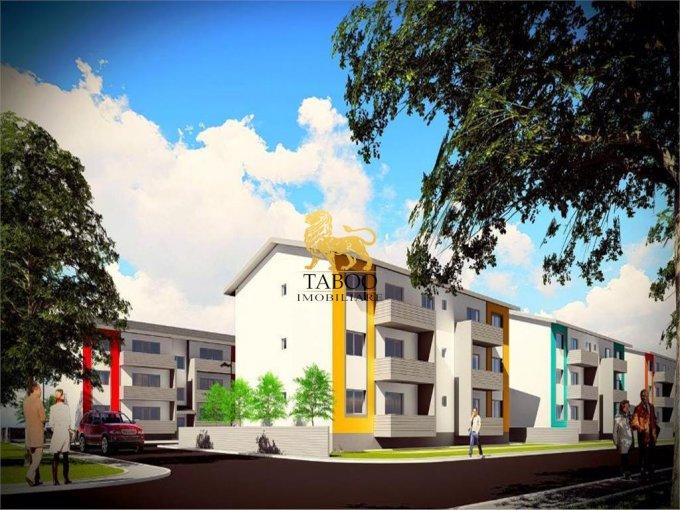 Apartament de vanzare in Sibiu cu 3 camere, cu 1 grup sanitar, suprafata utila 63 mp. Pret: 48.000 euro.