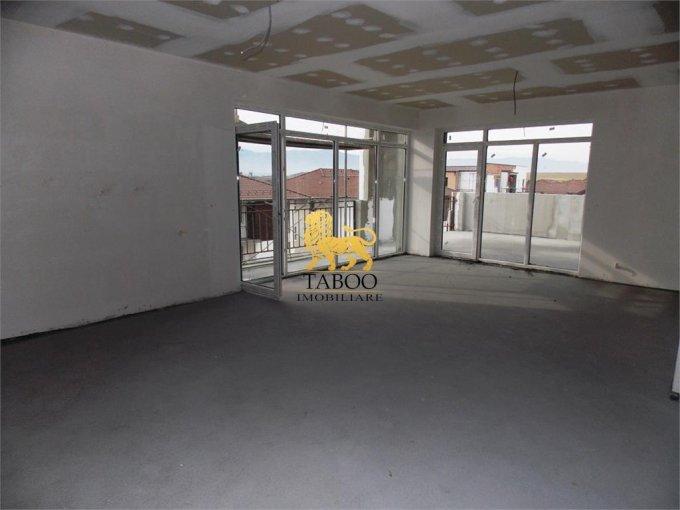Apartament de vanzare in Sibiu cu 3 camere, cu 2 grupuri sanitare, suprafata utila 104 mp. Pret: 62.000 euro.