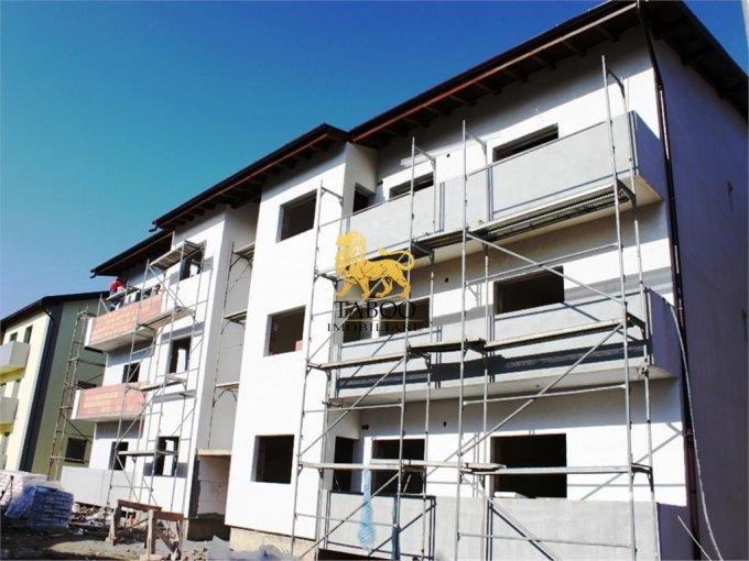 Apartament de vanzare in Sibiu cu 3 camere, cu 1 grup sanitar, suprafata utila 58 mp. Pret: 36.500 euro.