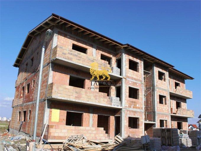 Apartament de vanzare in Sibiu cu 3 camere, cu 1 grup sanitar, suprafata utila 59 mp. Pret: 36.500 euro.