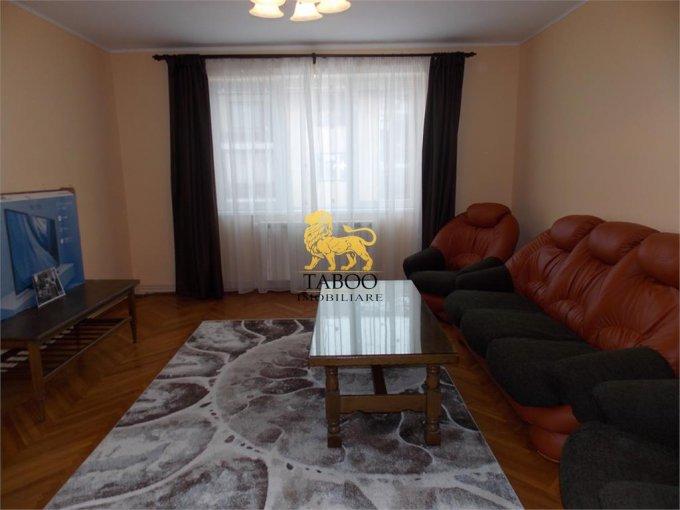 Apartament de inchiriat direct de la agentie imobiliara, in Sibiu, in zona Stefan cel Mare, cu 400 euro. 1 grup sanitar, suprafata utila 75 mp.