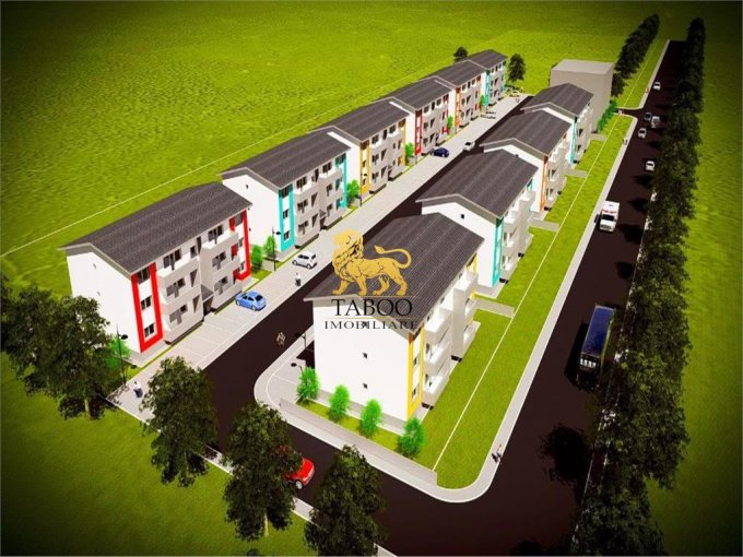 Apartament de vanzare direct de la agentie imobiliara, in Sibiu, in zona Vasile Aaron, cu 45.000 euro. 1 grup sanitar, suprafata utila 63 mp.
