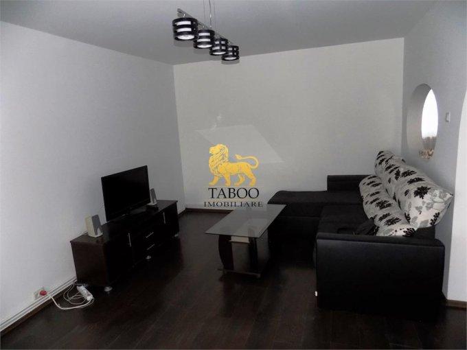 inchiriere Apartament Sibiu cu 3 camere, cu 1 grup sanitar, suprafata utila 72 mp. Pret: 250 euro.