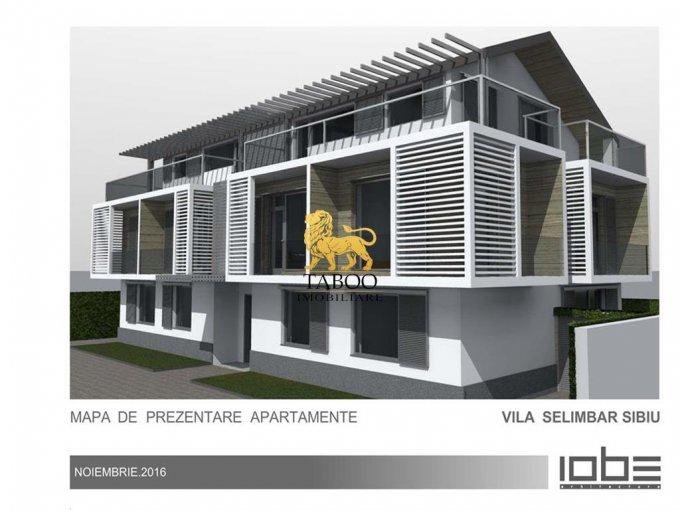 vanzare Apartament Sibiu cu 3 camere, cu 1 grup sanitar, suprafata utila 65 mp. Pret: 49.500 euro.