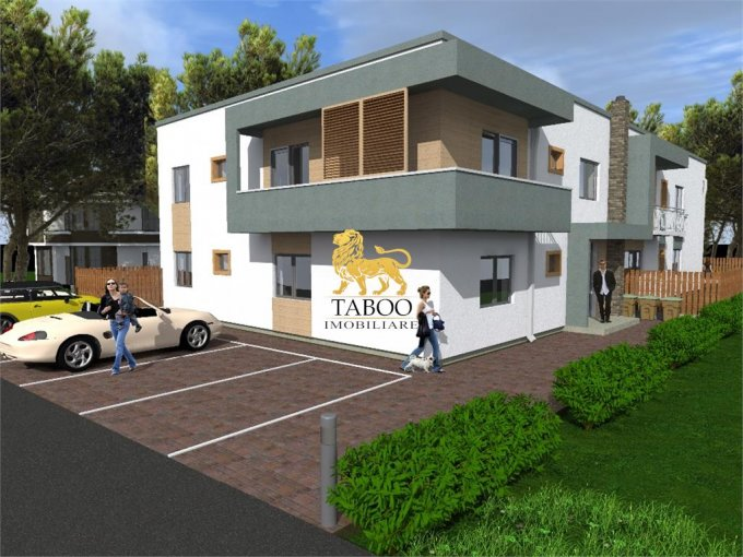 Apartament de vanzare in Sibiu cu 3 camere, cu 2 grupuri sanitare, suprafata utila 72 mp. Pret: 50.000 euro.