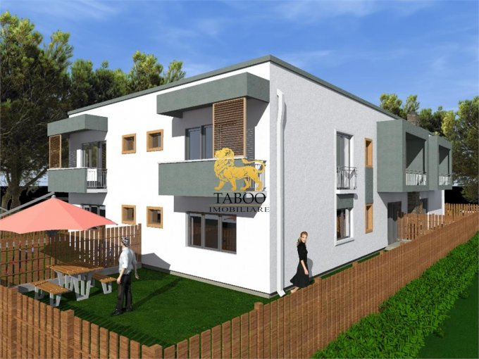Apartament de vanzare in Sibiu cu 3 camere, cu 2 grupuri sanitare, suprafata utila 72 mp. Pret: 44.000 euro.