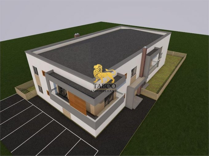 Apartament de vanzare in Sibiu cu 3 camere, cu 2 grupuri sanitare, suprafata utila 76 mp. Pret: 45.000 euro.