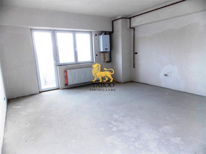 Apartament de vanzare direct de la agentie imobiliara, in Sibiu, cu 56.500 euro. 2 grupuri sanitare, suprafata utila 92 mp.
