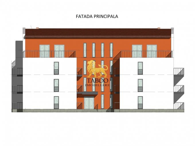 Apartament vanzare Sibiu 3 camere, suprafata utila 73 mp, 1 grup sanitar. 52.500 euro. Etajul 1 / 3. Apartament Calea Cisnadiei Sibiu