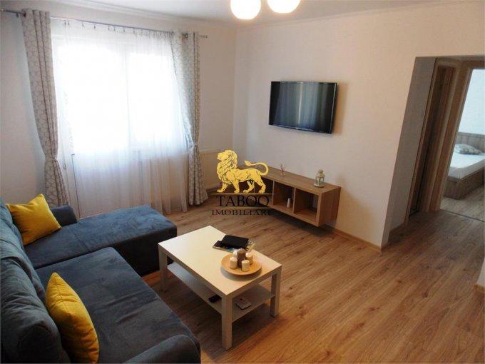 Apartament de inchiriat in Sibiu cu 3 camere, cu 1 grup sanitar, suprafata utila 64 mp. Pret: 460 euro.
