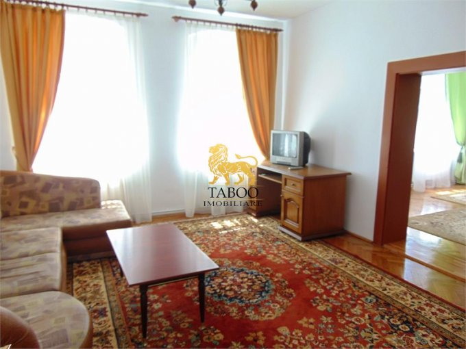 Apartament de inchiriat direct de la agentie imobiliara, in Sibiu, cu 495 euro. 1 grup sanitar, suprafata utila 57 mp.