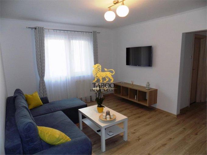 Apartament inchiriere Sibiu 3 camere, suprafata utila 64 mp, 1 grup sanitar. 460 euro. Etajul 2 / 4. Apartament Calea Dumbravii Sibiu