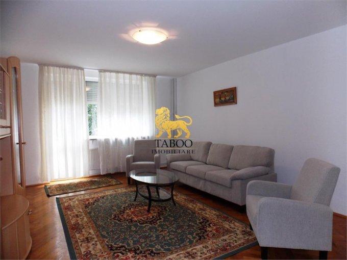 Apartament de inchiriat in Sibiu cu 3 camere, cu 1 grup sanitar, suprafata utila 80 mp. Pret: 350 euro.
