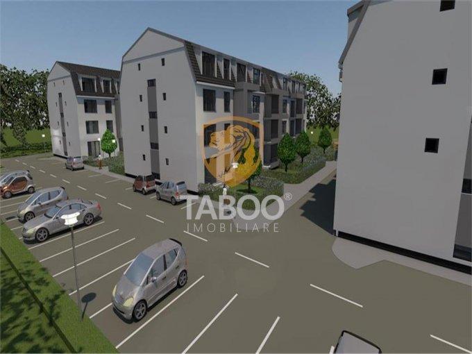 Apartament vanzare Sibiu 3 camere, suprafata utila 86 mp, 2 grupuri sanitare. 62.000 euro. Etajul 3 / 3. Apartament Selimbar Sibiu