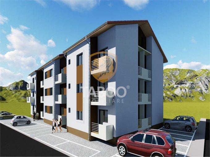 Apartament de vanzare in Sibiu cu 3 camere, cu 1 grup sanitar, suprafata utila 56 mp. Pret: 42.950 euro.