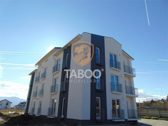Apartament de vanzare in Sibiu cu 3 camere, cu 1 grup sanitar, suprafata utila 55 mp. Pret: 40.500 euro.