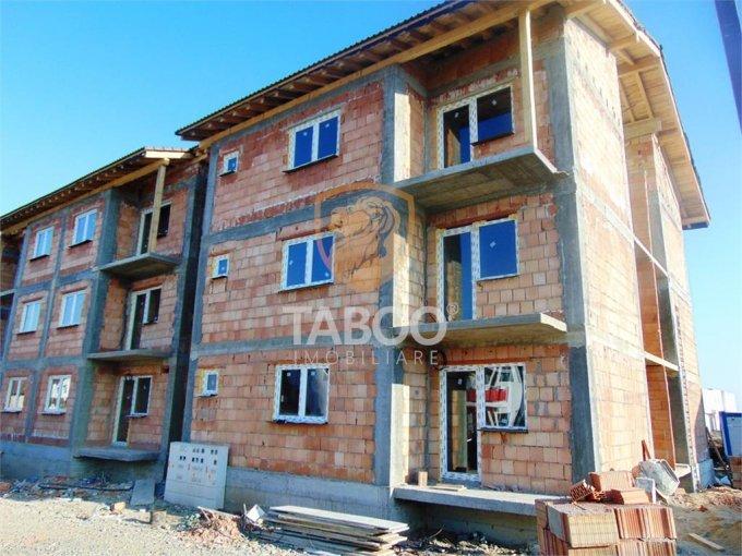 Apartament de vanzare in Sibiu cu 3 camere, cu 1 grup sanitar, suprafata utila 54 mp. Pret: 45.900 euro.