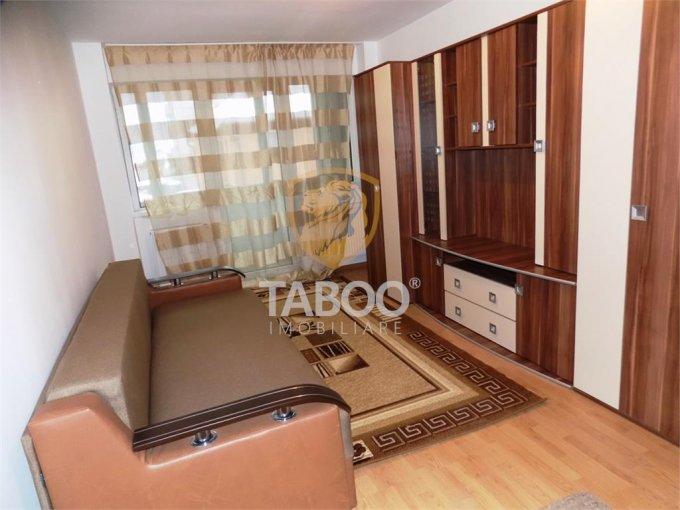 inchiriere Apartament Sibiu cu 3 camere, cu 1 grup sanitar, suprafata utila 65 mp. Pret: 279 euro.