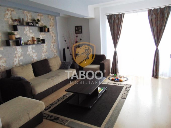 Apartament de vanzare in Sibiu cu 3 camere, cu 2 grupuri sanitare, suprafata utila 78 mp. Pret: 85.000 euro.
