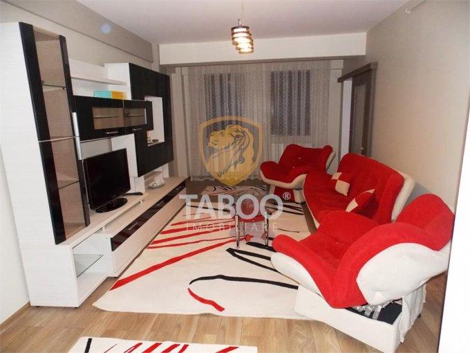 Apartament inchiriere Sibiu 3 camere, suprafata utila 65 mp, 1 grup sanitar. 950 euro. Etajul 3 / 5. Apartament Sibiu