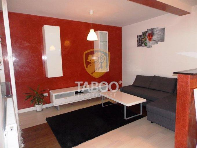 Apartament de inchiriat direct de la agentie imobiliara, in Sibiu, in zona Turnisor, cu 300 euro. 1 grup sanitar, suprafata utila 64 mp.