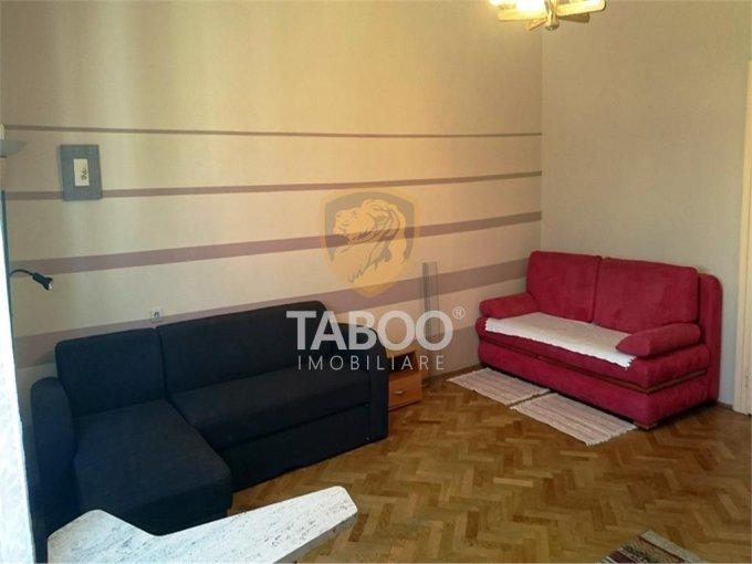 Apartament de inchiriat in Sibiu cu 3 camere, cu 1 grup sanitar, suprafata utila 62 mp. Pret: 300 euro.