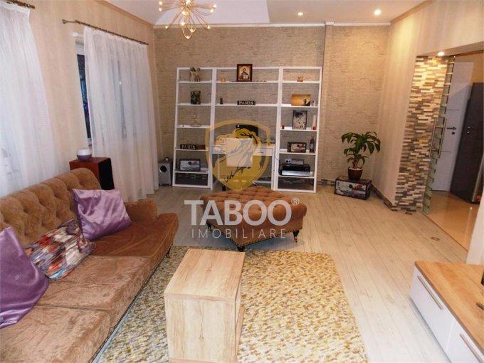 Apartament de vanzare in Sibiu cu 3 camere, cu 1 grup sanitar, suprafata utila 90 mp. Pret: 104.000 euro.