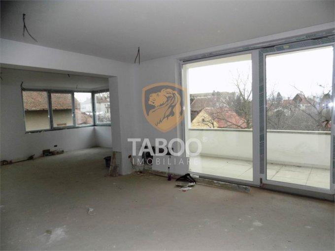 Apartament de vanzare direct de la agentie imobiliara, in Sibiu, cu 125.000 euro. 1 grup sanitar, suprafata utila 95 mp.