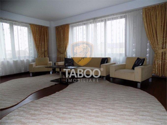 inchiriere Apartament Sibiu cu 3 camere, cu 1 grup sanitar, suprafata utila 100 mp. Pret: 550 euro.