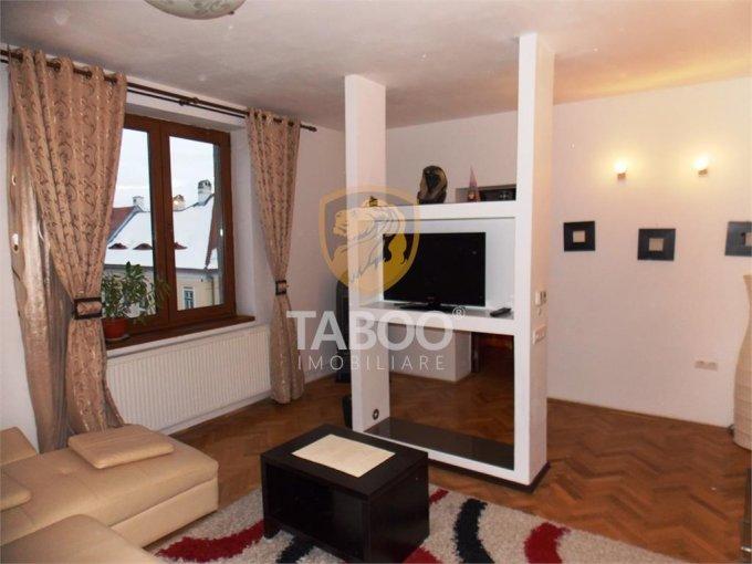 Apartament de inchiriat direct de la agentie imobiliara, in Sibiu, cu 350 euro. 1 grup sanitar, suprafata utila 69 mp.